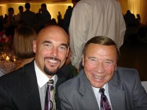 Carl & Dad(Rick) at a family wedding