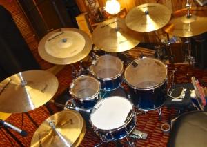 Testin Heartbeat Cymbals in my studio