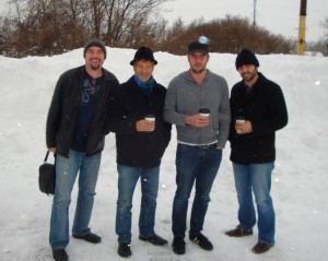 Paul Baloche band - coffee break at winter session